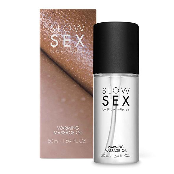 BIJOUX INDISCRETS - SLOW SEX WARMING MASSAGE OIL, soojendav massaažiõli