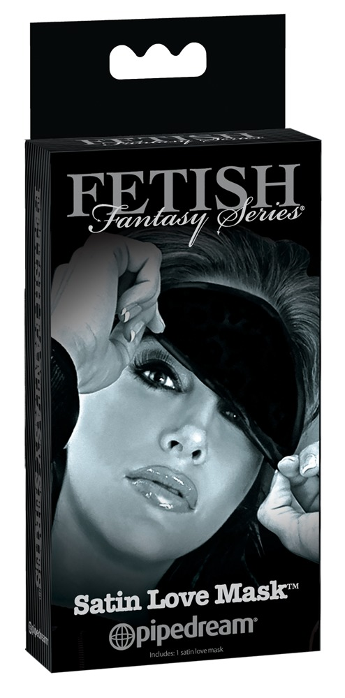 Fetish Fantasy Satin Love Mask, satiinist mask