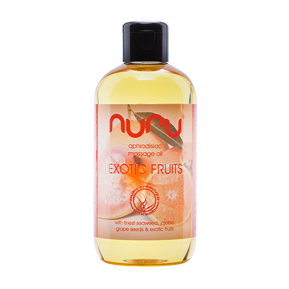 NURU - MASSAGE OIL EXOTIC FRUITS, NURU-massaažiõli puuviljadega, 250 ML